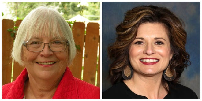 Shirley Clarke and Heather Hulen are running for an at-large seat on the Indianola City Council.