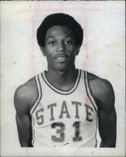 MSU's Mike Robinson on July 24, 1970.
