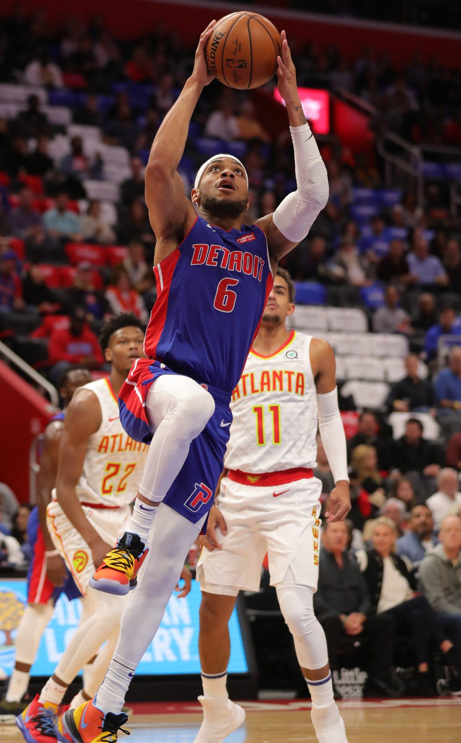 Atlanta Hawks 117, Detroit Pistons 100: Photos from home opener
