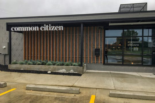 "Common Citizen medical marijuana dispensary in Flint where the store is divided into four ""needs"" stations. The ""Daily Dose"" section carries products for people who want to have a little extra energy boost in October, 2019."