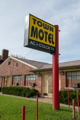 The Town Motel on West Grand Blvd.  in Detroit was one of the places that became havens for black travelers directed there by the Green Book.