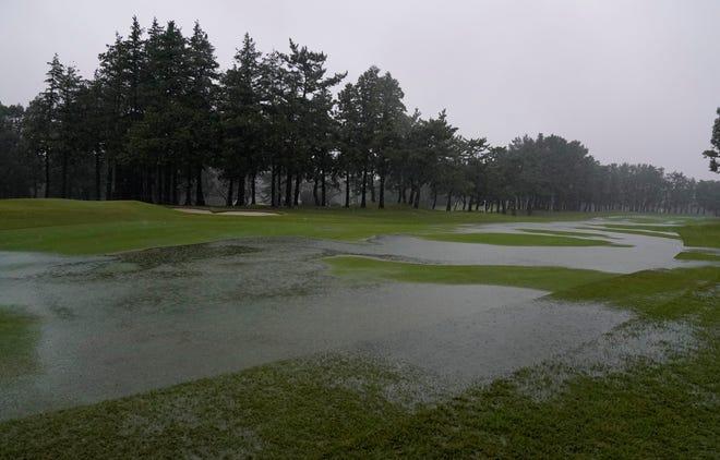 Heavy rain hit hard at the Zozo Championship in Japan.