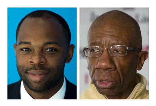 Alex Burton, left, and Archie Carter are running for the open City Council seat in Evansville's 4th Ward.