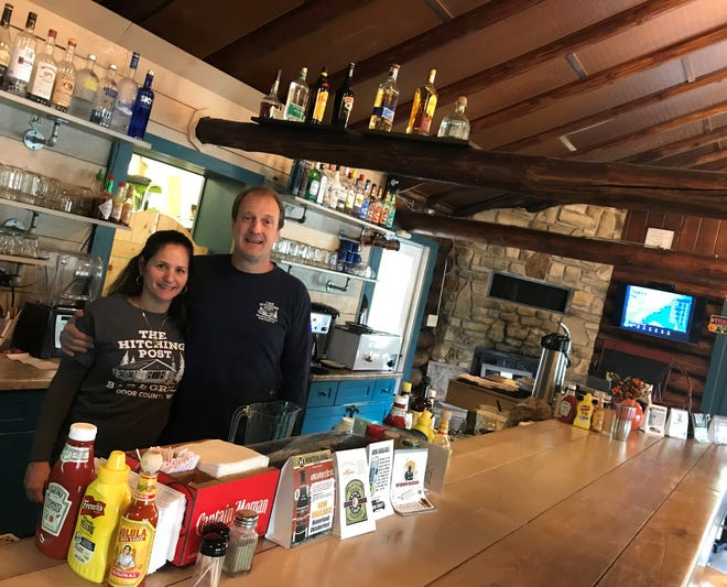 Carolyn and Andy Ripp have owned and operated The Hitching Post Bar & Grill in Valmy for just more than a year.