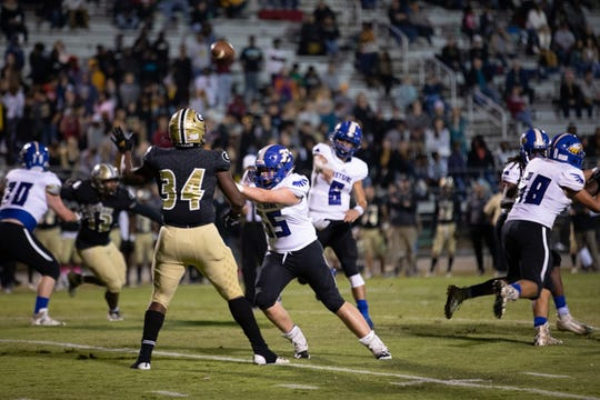 Greer hosted Eastside in week 9 of Upstate high school football on Thursday, Oct. 24, 2019.