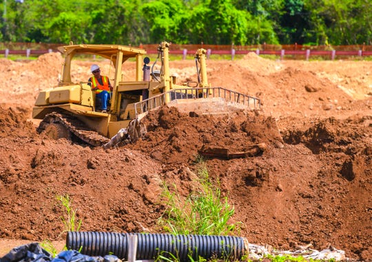 Earthwork has started for Phase II of the Ironwood Villa Del Mar residential housing project in Toto on Friday, Oct. 25, 2019. The governor's fiscal team said there are some bright spots for the economy.