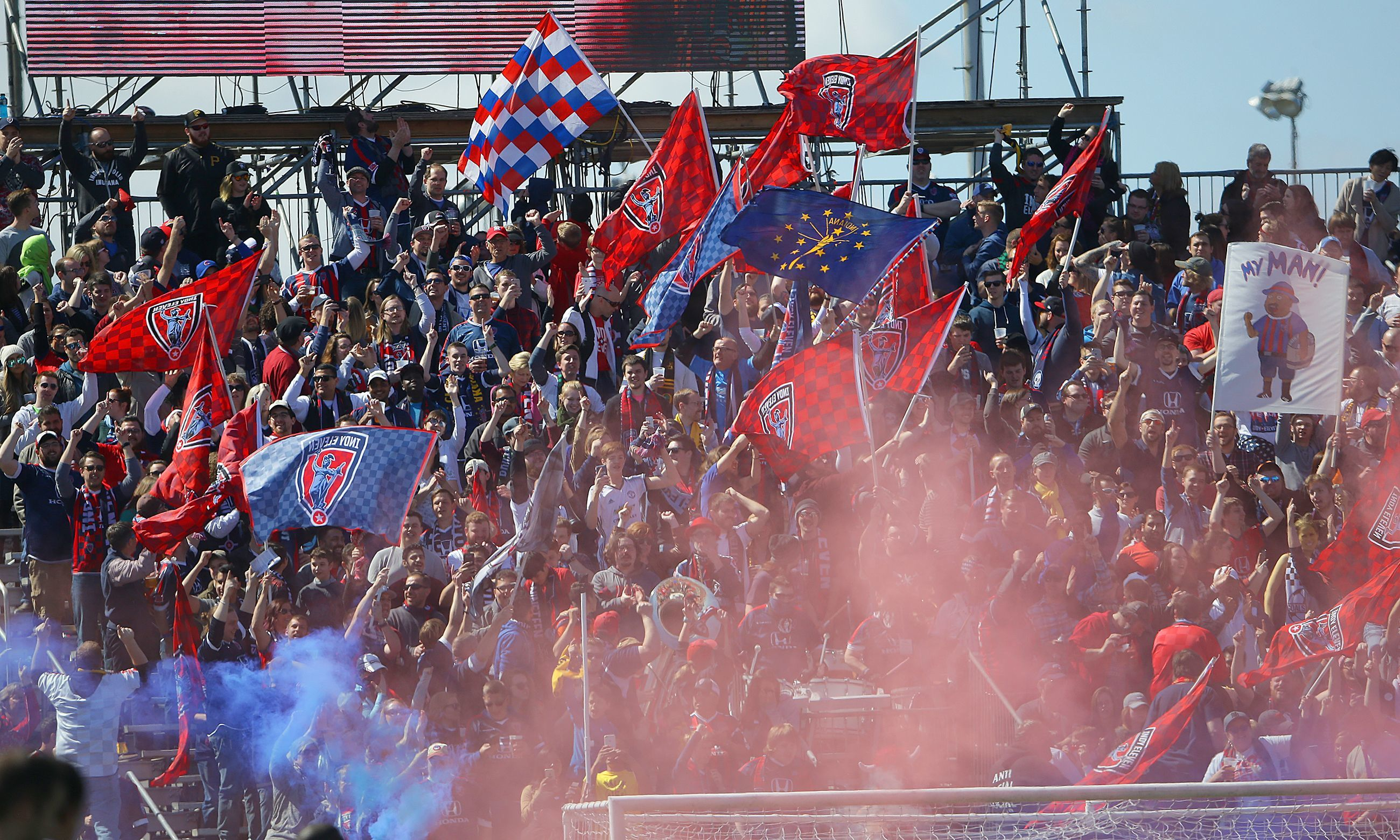 """Indy Eleven's fans have fond memories of """"The Mike."""" They'll return there Saturday for USL playoff action."""