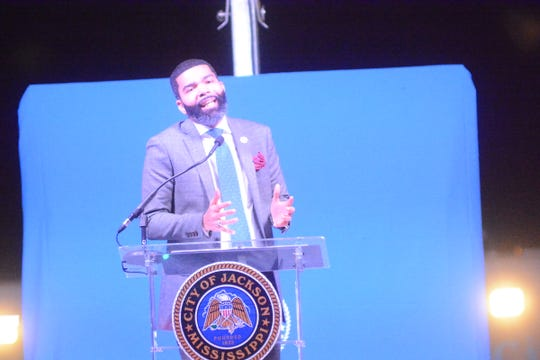City of Jackson Mayor Chokwe Antar Lumumba delivered an impassioned State of the City address Oct. 24, 2019, highlighting his administration's accomplishments the last year.
