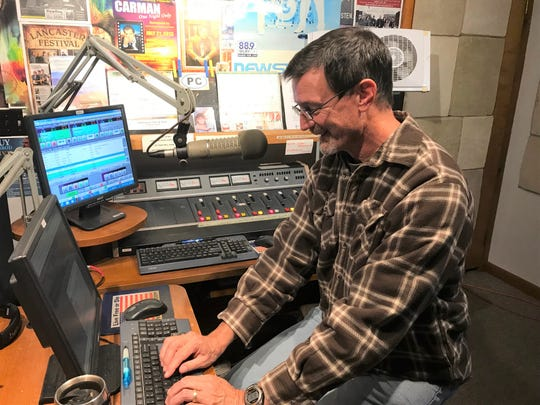 WLRY FM general manager Mike Lamneck has been at the Christian radio station since 2005. He goes by the on-air name of Mike O'Riley when working.