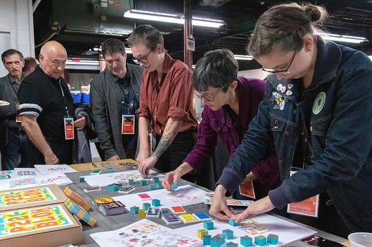 The Wayzgoose Conference returns to Hamilton Wood Type & Printing Museum in Two Rivers Nov. 8-10.