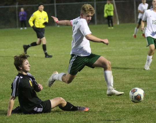 Madison's James Wagner got the Rams back into the game with two goals early in the second half to force overtime.