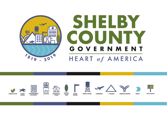 Shelby County Government unveiled a commemorative logo Friday for 'Celebrate Shelby.'