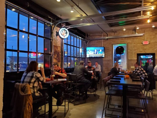 Hot House Tavern, which will open Oct. 30, was formerly a fire station in Menomonee Falls. The new restaurant will keep many features of the former fire station intact, such as the three bays used now as windows.