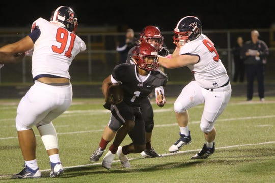 The West Monroe Rebels took on the Ouachita Lions Thursday night in Monroe, October 24.