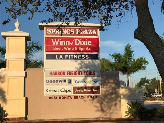 The Winn-Dixie at Bonita Beach Road and U.S. 41 is closing on Nov. 11, 2019. Clearance signs are everywhere, and the shelves are starting to empty.