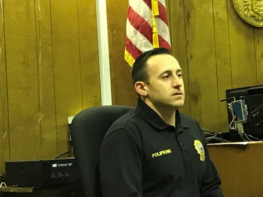 Wayne Detective Michael Polifrone took the witness stand on Friday.