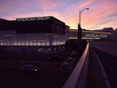 The sun rises of the American Dream on its opening day in East Rutherford, N.J. on Friday Oct. 25, 2019.