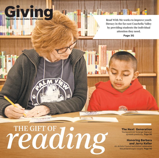 The Giving section made its Desert Sun debut on Saturday, Oct. 26, 2019.