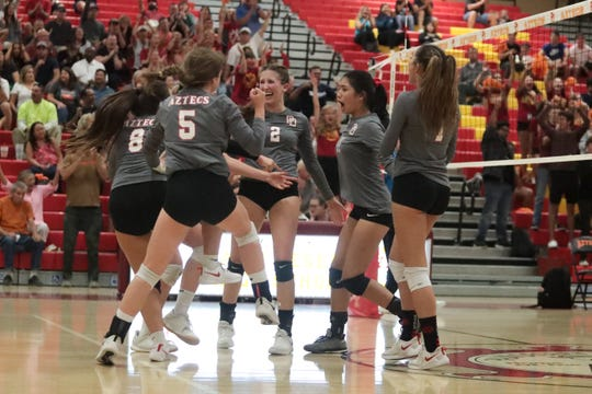 Volleyball is one fall sport that may be modified amid coronavirus concerns.