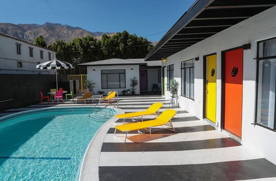 The Art Hotel is a new boutique hotel set to open in January 2020 in Palm Springs, October 24, 2019.