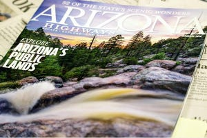The Arizona Highways magazine is one of the publications that has been banned by the Arizona Department of Corrections.