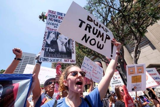Marcha anti-Trump.
