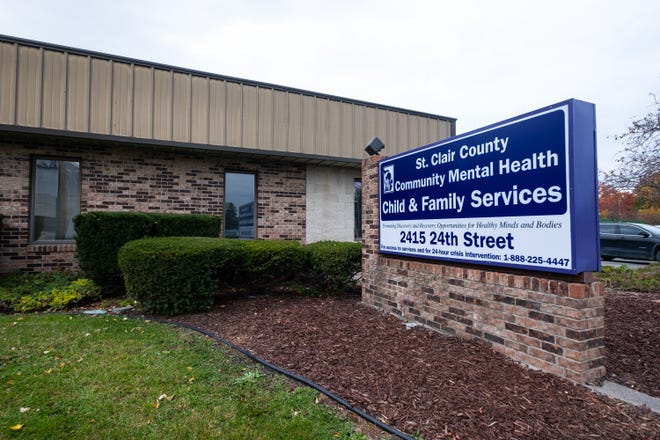 St. Clair County Community Mental Health's building at 2415 24th St. in Port Huron.