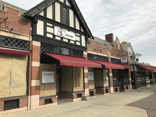 Savona's Trattoria in the Town of Poughkeepsie, located at the former BC Kitchen and Bar.