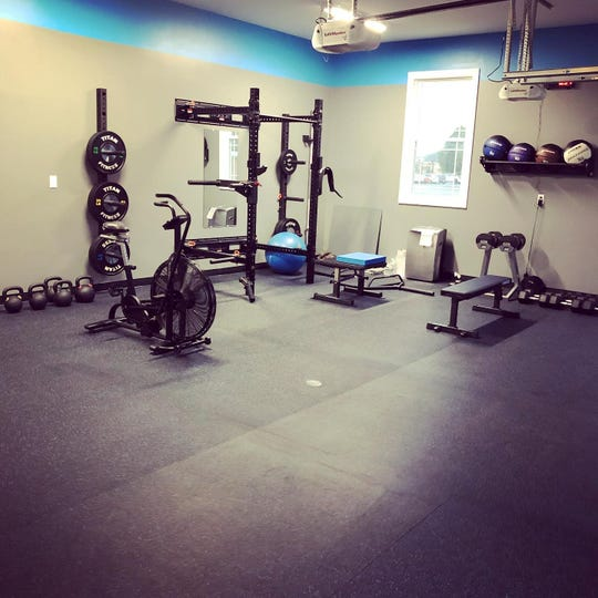 """Mike Over will start offering physical training to individuals and small groups at """"Mike's Lair."""""""