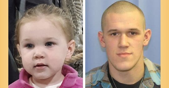 An amber alert was issued for Dawyson Marie Wright, who was reportedly abducted by her father Travis Allen Wright.