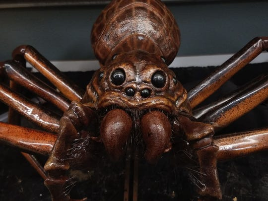 "The spider Rebert created was so realistic, it scared the actors in ""Itsy Bitsy."""