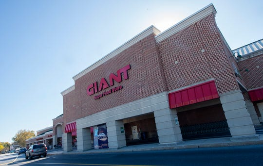 The Giant at 3301 E. Trindle Road in Camp Hill is one of five locations in central Pa. to install the Giant's new frictionless shopping technology.