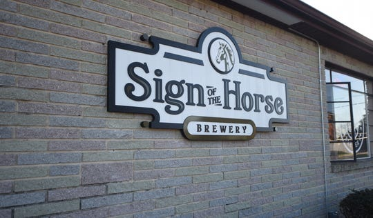Sign of the Horse Brewery in Hanover opened on Tuesday, Oct. 22, 2019. The brewery is located at 979 York Street.