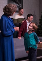 "Simon Watson, an 8-year-old from Keizer, playing the role of Bud Ogden-Porter in ""Mothers and Sons""at Pentacle Theatre. The show runs through Nov. 9."