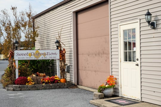 Sweet Disposition in Selbyville has been open for 16 years. They sell pies, cakes, cupcakes and more, and take custom orders. Friday, Oct. 25, 2019.