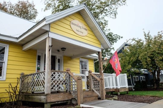 Morning Buns Bake Shop in Ocean View looks like grandma's house and certainly has the buns, from sticky pecan to monkey bread. Friday, Oct. 25, 2019.