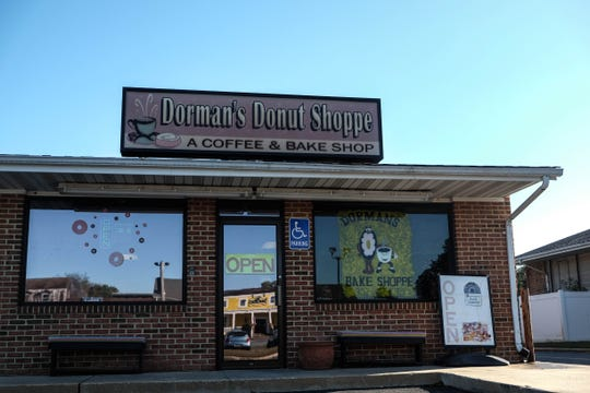 Dorman's Donut Shoppe, located just off Route 24 near Lewes, boasts sticky buns, a variety of doughnuts and gluten-free products. Wednesday, Oct. 23, 2019.