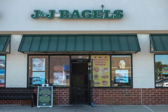 J&J Bagels in Georgetown has hand-rolled bagels that rival Surf Bagel. They also serve tacos, tortas and other Mexican breakfast/lunch items. Wednesday, Oct. 23, 2019.