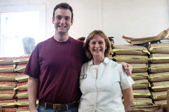 Patrick and Ruth Clifton are the mother-and-son team running Fortunata's, an old school bakery located in Milford. Wednesday, Oct. 23, 2019.