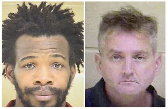 From left to right: James Haywood III and Charles Finch