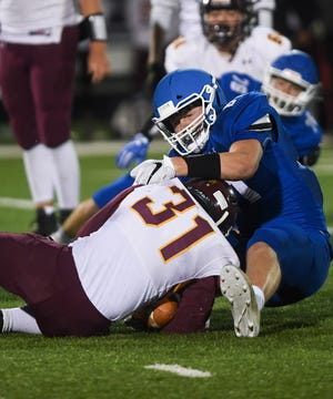 Sioux Falls Christian wide receiver and lineman Zach Witte