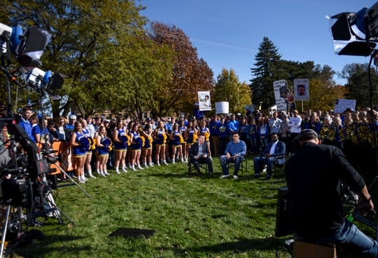GameDay live is taped on Friday, Oct. 25, 2019 at SDSU in Brookings, S.D.