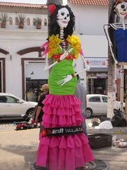 Doll from Day of the Dead celebration