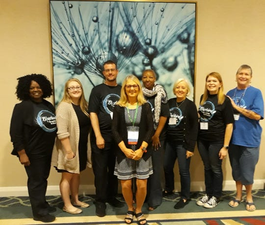 NAMI volunteers at the 2019 NAMI Florida state conference in September.