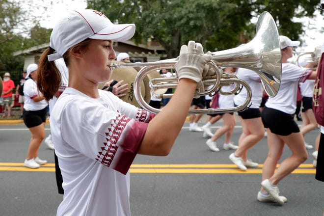 Florida State University hosted their 2019 homecoming parade for Seminoles fans of all ages to enjoy on Friday, Oct. 25, 2019.