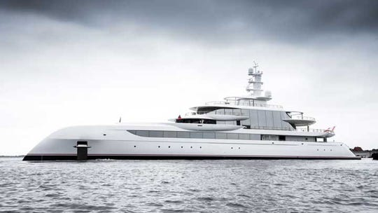 Excellence, a 262-foot Abeking and Rasmussen, will be at the Fort Lauderdale International Boat Show Oct. 30-Nov. 3.