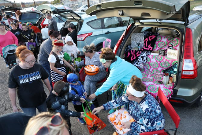 Eastside Community Ministries held its third annual trunk-or-treat event on Thursday. More photos of the event are available at www.zanesvilletimesrecorder.com.