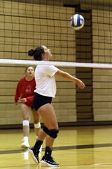 River View's Allison Cramer is part of the Muskingum University volleyball team's nationally ranked season.