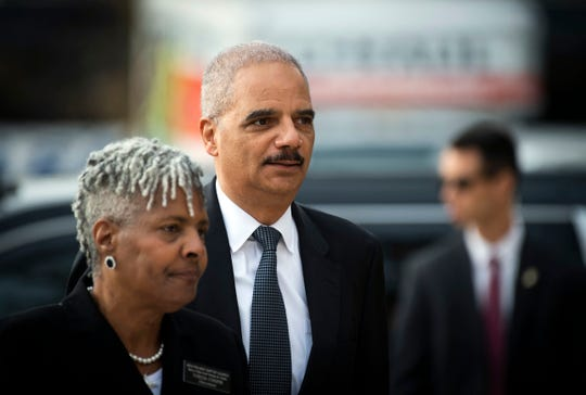 Former Attorney General Eric Holder is partly behind a lawsuit challenging Mississippi's Jim Crow-era election law.