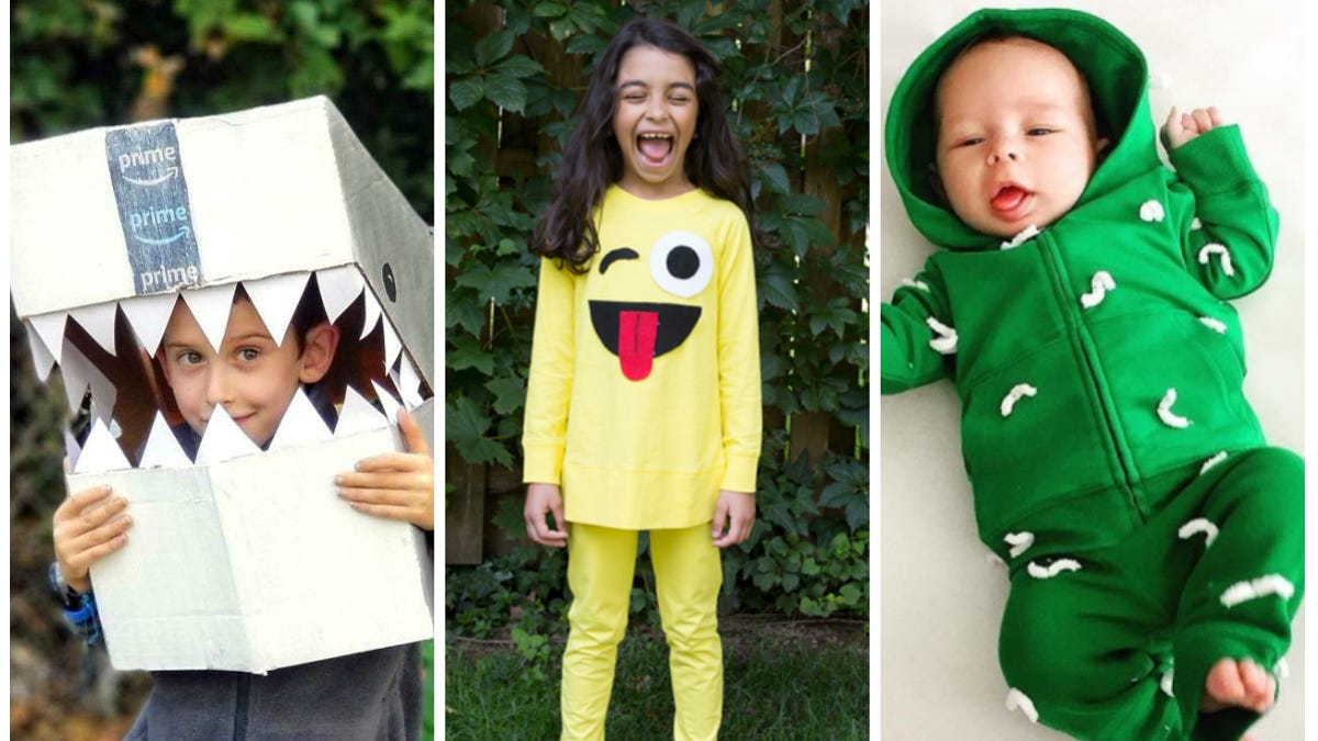 Easy Last Minute Halloween Costumes For Kids And Babies